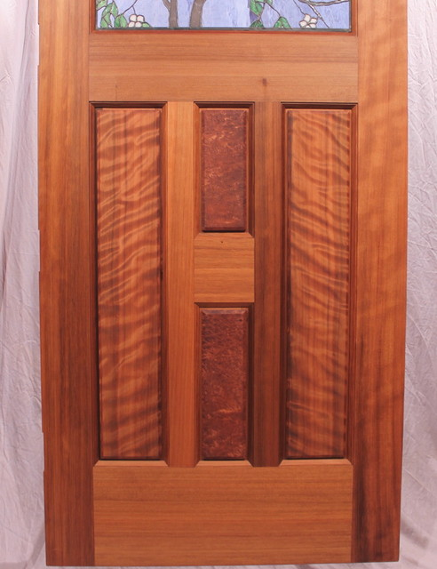 The Dogwood Entry contemporary-front-doors