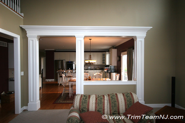 Doorsways and Archways traditional-family-room