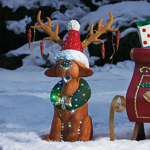 28 best christmas outdoor figures lighted new rgb for Outside christmas figures