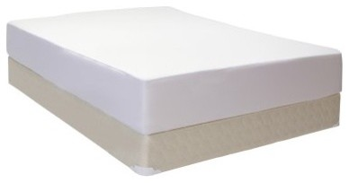 Glideaway Fully Encased Standard Profile Mattress Protector modern beds