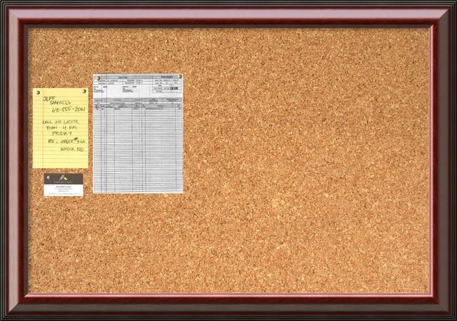 39 cambridge mahogany cork board large 39 framed art print