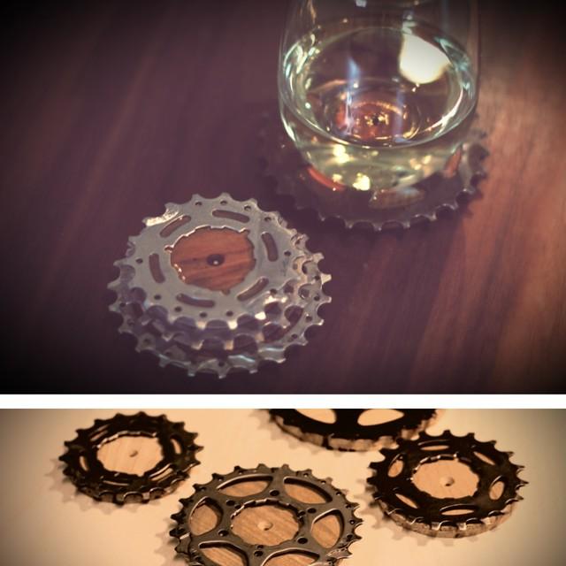 Bicycle Gear Cog Coasters - Contemporary - san luis obispo - by EnEn Design