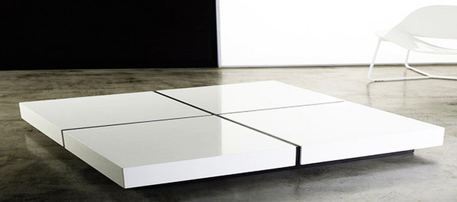 Modern White Coffee Tables