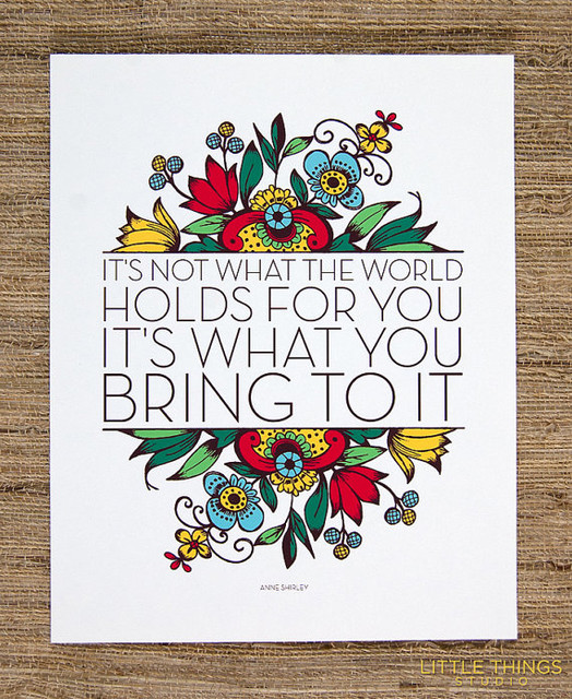 'It's Not What the World Holds for You,' Small by Little Things Studio contemporary-artwork