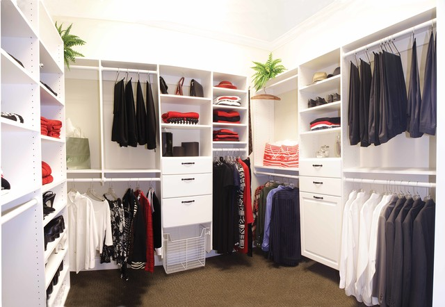 Master Closets traditional-closet