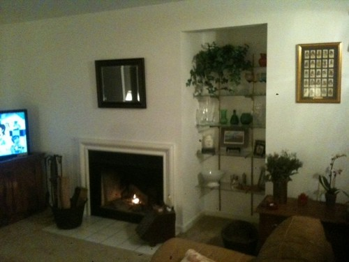Ideas For A Small Fireplace And Adjacent 36 Alcove