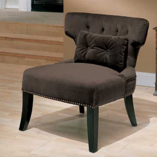 Emerald Home Lucinda Accent Chair - Brown traditional chairs