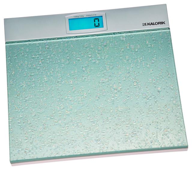 Kalorik Electronic Bathroom Scale modern-bathroom-scales