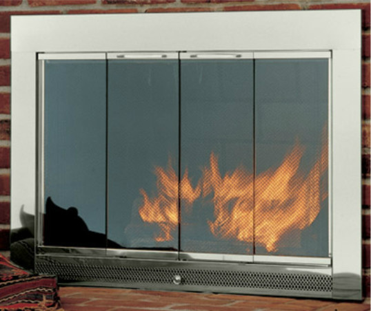 hearth craft fireplace glass door in in stock modern fireplace