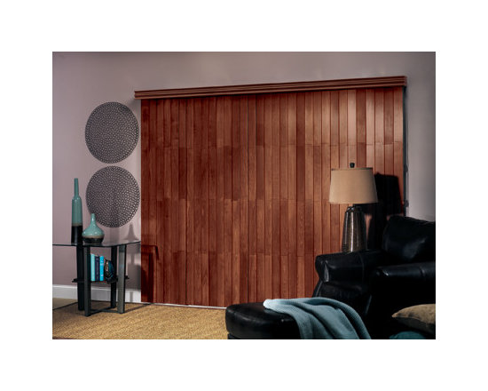 Northern Heights Wood Vertical Blinds -