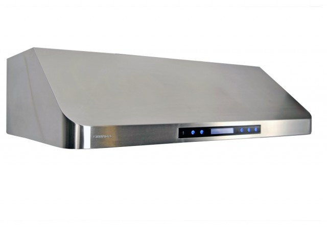 """Cavaliere Euro AP238-PS15-36 36"""" Under-Cabinet Range Hood w/ Remote Control contemporary-range-hoods-and-vents"""