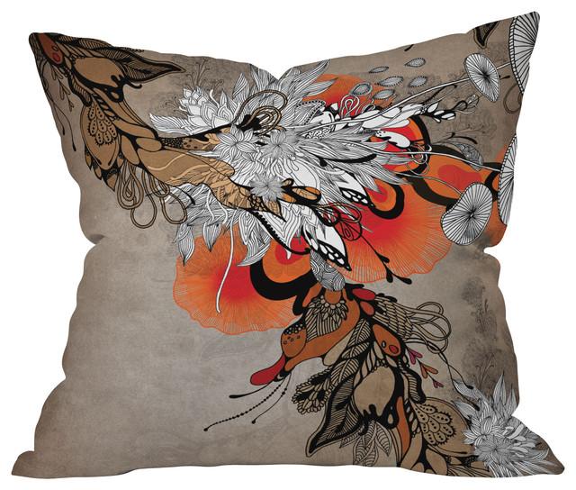 Iveta Abolina Sonnet Throw Pillow, 18x18x5 eclectic-decorative-pillows