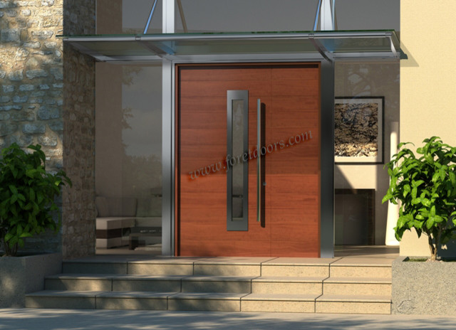 Modern Contemporary Front Door 640 x 464