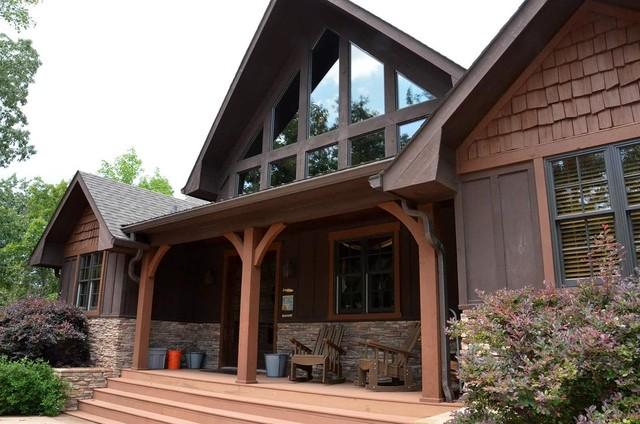 Appalachia Mountain Home House Plan traditional-exterior