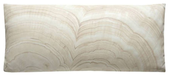 Onyx Faux Leather Pillows by Dransfield & Ross contemporary-decorative-pillows