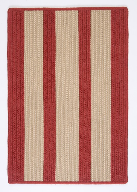 Indoor Outdoor Boat House Rust Red Rug 5 X8