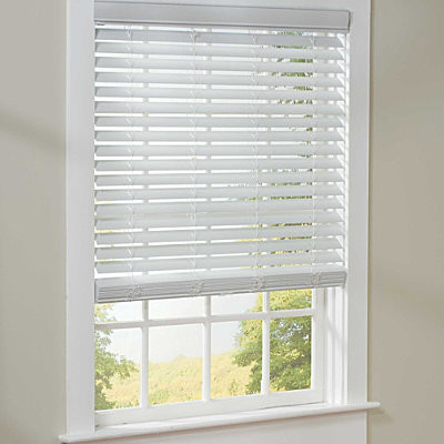 cordless plantation blinds 39 wide contemporary window blinds by improvements catalog. Black Bedroom Furniture Sets. Home Design Ideas
