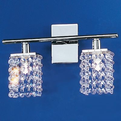 Pyton 2-Light Bathbar by Eglo lamp-shades