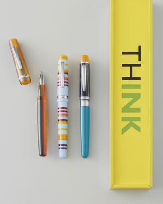"Think ""Tigerlily"" Pen traditional-desks"