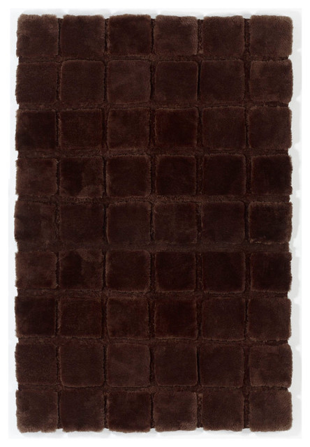 Shearling Basics Cubes Area Rug, 8.5' x 11' contemporary-rugs