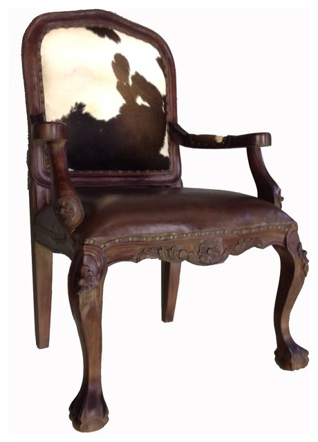 Cowhide Chairs - Rustic - Armchairs And Accent Chairs - by ...