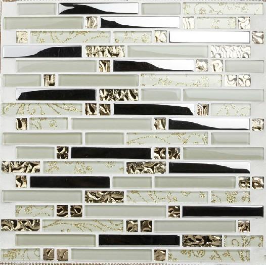 stainless steel mosaic tiles ssmt005 glass mosaic tile backsplash