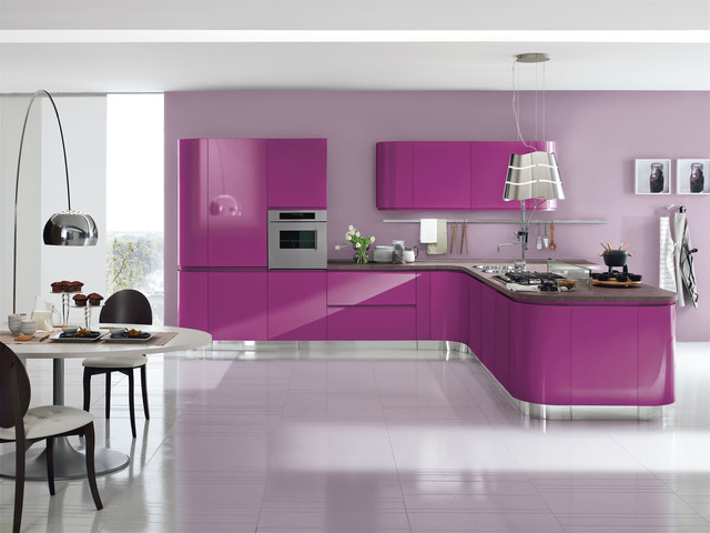 Italian Kitchens and Doors (by AERRE CUCINE) modern-kitchen-cabinetry