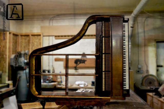 Piano repurposing - Craftsman - other metro - by Arostegui Studio ...