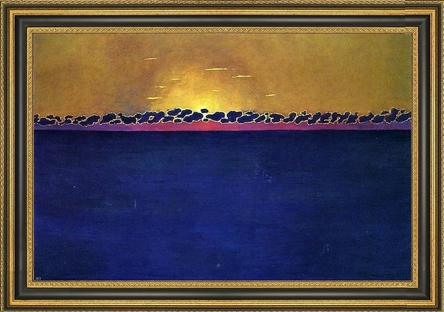 Felix vallotton sunset gray blue high tide contemporary fine art prints by art megamart - Vallotton architect ...