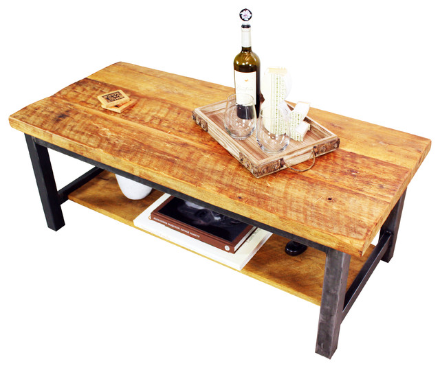 Reclaimed Timber Coffee Table Rustic Tables