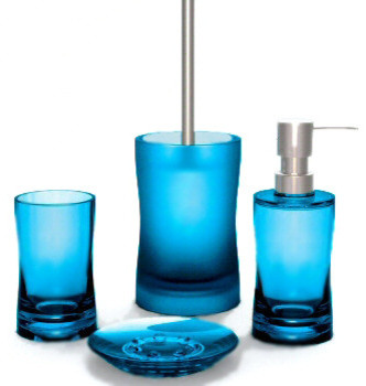 Fortune modern acrylic bathroom accessories from vita for Bathroom accessories acrylic