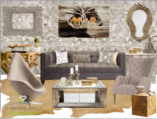 My interior designs modern-rendering