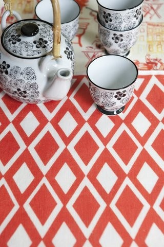 AphroChic - The Beat Placemat eclectic-placemats