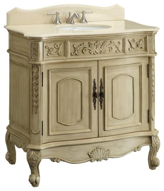 Antique Bathroom Vanities traditional-bathroom-vanities-and-sink-consoles