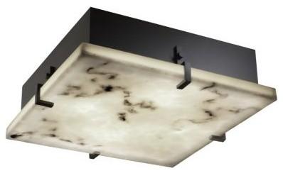 LumenAria Clips Flushmount by Justice Design Group bathroom-lighting-and-vanity-lighting
