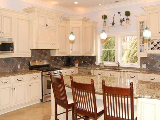 Antique White Kitchen Cabinets Home Design modern-kitchen-cabinetry