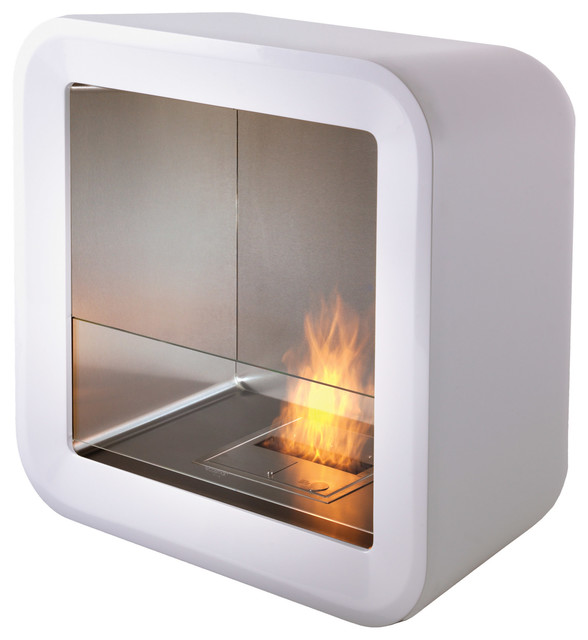 Retro Fireplace modern-indoor-fireplaces