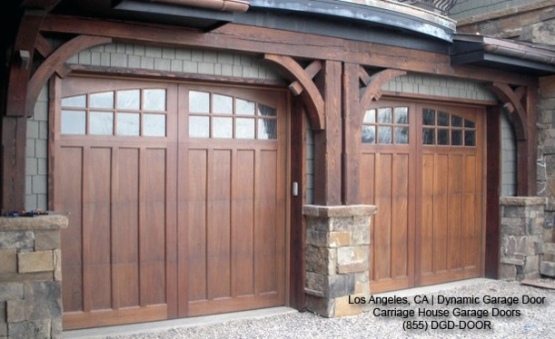 Traditional Custom-Made Wood Carriage House Style Garage Doors traditional-garage-and-shed