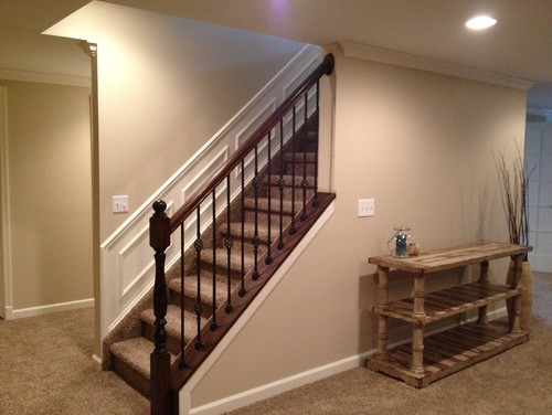Stair Railing Stain Color