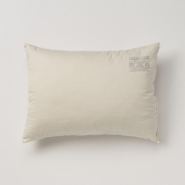 Organic Cotton Pillow traditional-bed-pillows