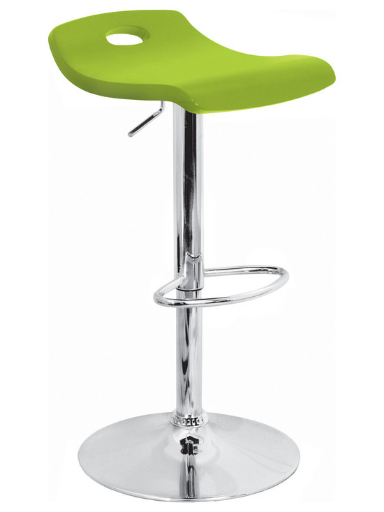 Surf Bar Stool - GREEN