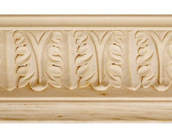 "Inviting Home - Cambridge Carved Crown Molding - bass wood - bass wood crown molding 4""H x 4""P x 5-5/8""F x 8'00""L sold in 8 foot length 3 piece minimum order required Hand Carved Wood Molding specification: Outstanding quality molding profile milled from high grade kiln dried American hardwood available in bass hard maple red oak and cherry. High relief ornamental design is hand carved into the molding. Wood molding is sold unfinished and can be easily stained painted or glazed. The installation of the wood molding should be treated the same manner as you would treat any wood molding: all molding should be kept in a clean and dry environment away from excessive moisture. acclimate wooden moldings for 5-7 days. when installing wood moldings it is recommended to nail molding securely to studs; pre-drill when necessary and glue all mitered corners for maximum support."