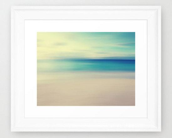 Beach Framed Art Print by Ally Coxon -