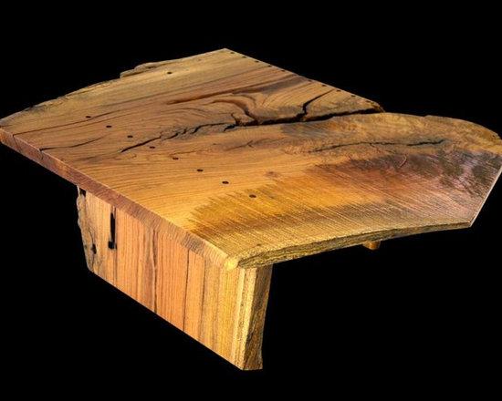 Oak Slab Coffee Table - Robin Wade