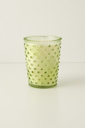 Simpatico Hobnail Candle contemporary-candles