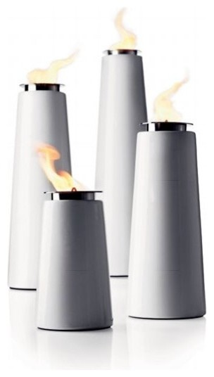 Lighthouse Outdoor Torch Modern Tiki Torches By