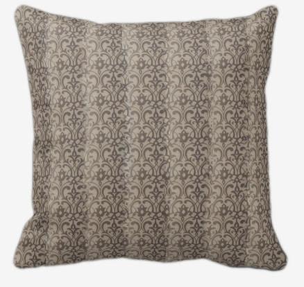 Evelyn Paisley Decorative Pillow contemporary-decorative-pillows