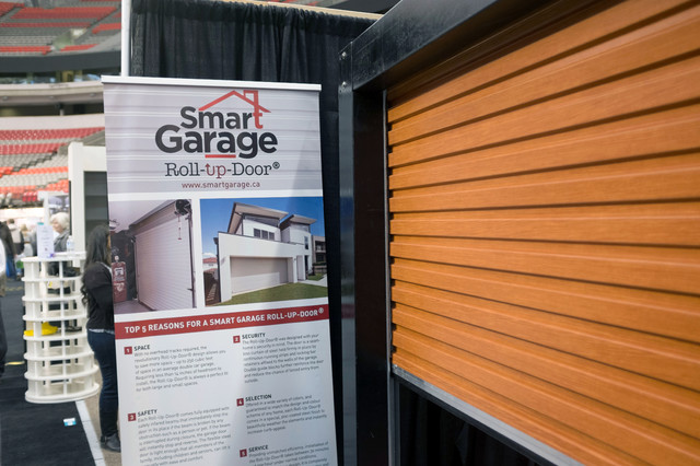 Residential roll up garage doors contemporary