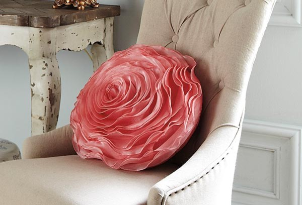Hayley Rose Pillow - Contemporary - Decorative Pillows