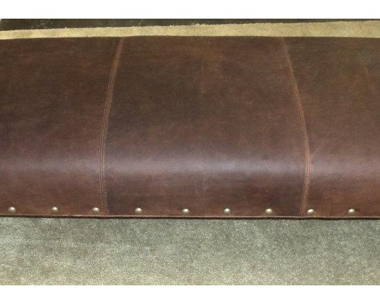 "Customer Custom Orders - King Hickory ""Buy the Inch"" Ottoman at Barnett Furniture in Trussville / Birmingham, AL."